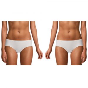 Pack 2 Pantys Mujer Calvin Klein Invisibles High Waist Nymphys Thigh | Original