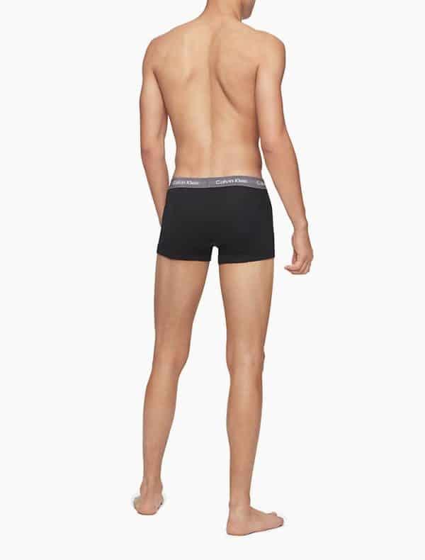 Pack 5 Bóxers Hombre Calvin Klein Trunk Cotton Classic Fit Colors | Original