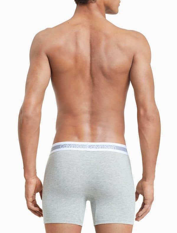 Pack 3 Bóxers Hombre Calvin Klein Brief Stretch Grey | Original