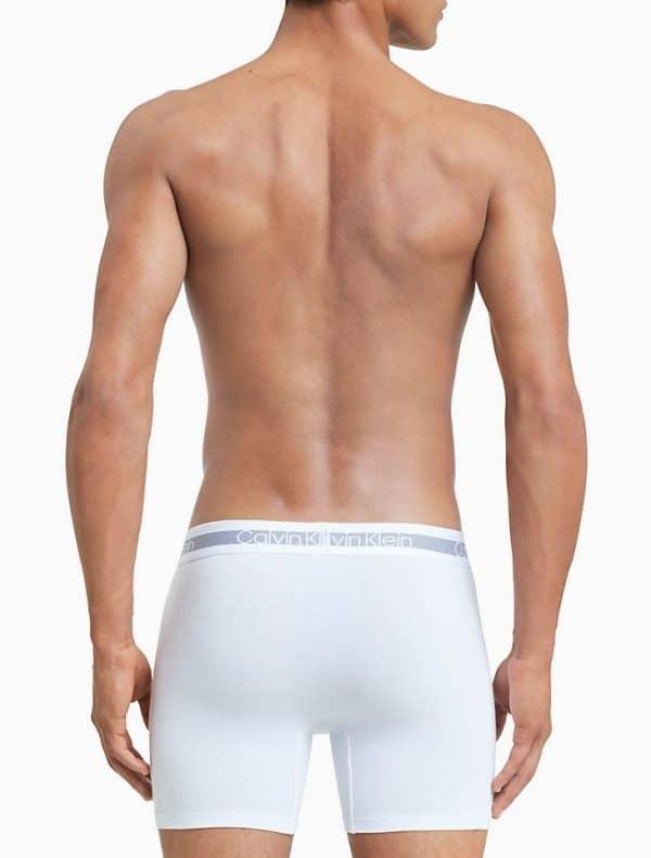 Pack 3 Bóxers Hombre Calvin Klein Brief Stretch Cooling White   Original