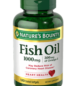 Omega 3 Nature's Bounty 1200mg | 120 Cápsulas