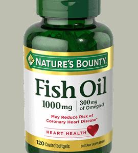 Omega 3 Nature's Bounty 1000mg | 120 Cápsulas