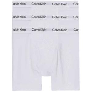 Pack 3 Bóxers Hombre Calvin Klein Cotton Stretch Cooling Brief White   Original