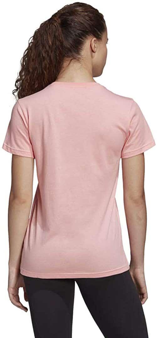 Camiseta Mujer Adidas Badge Of Sport T-Shirt Pink   Original